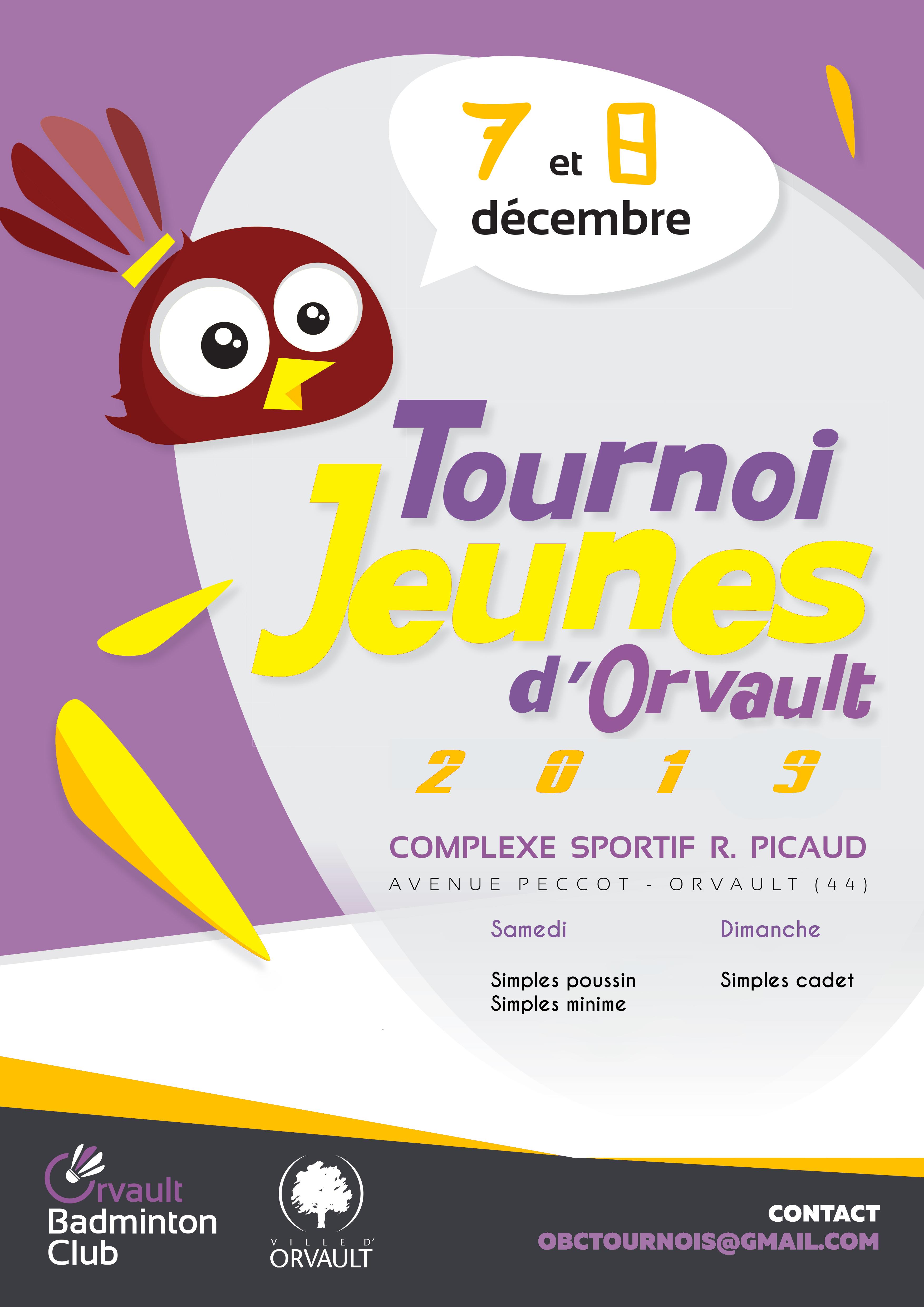 Tournoi Jeunes 7&8 Décembre 2019