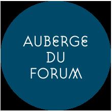 logo auberge du forum