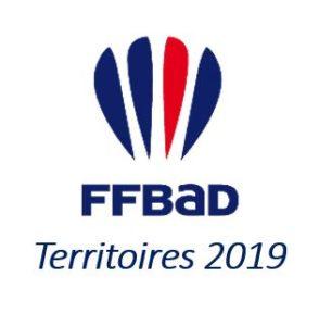 labal FFBad Territoires 2019