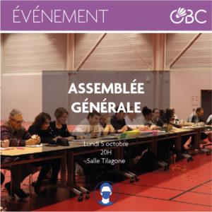 Assemblée générale de l'OBC