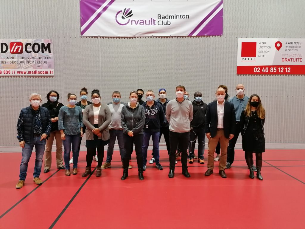 bureau orvault badminton club association bénévoles