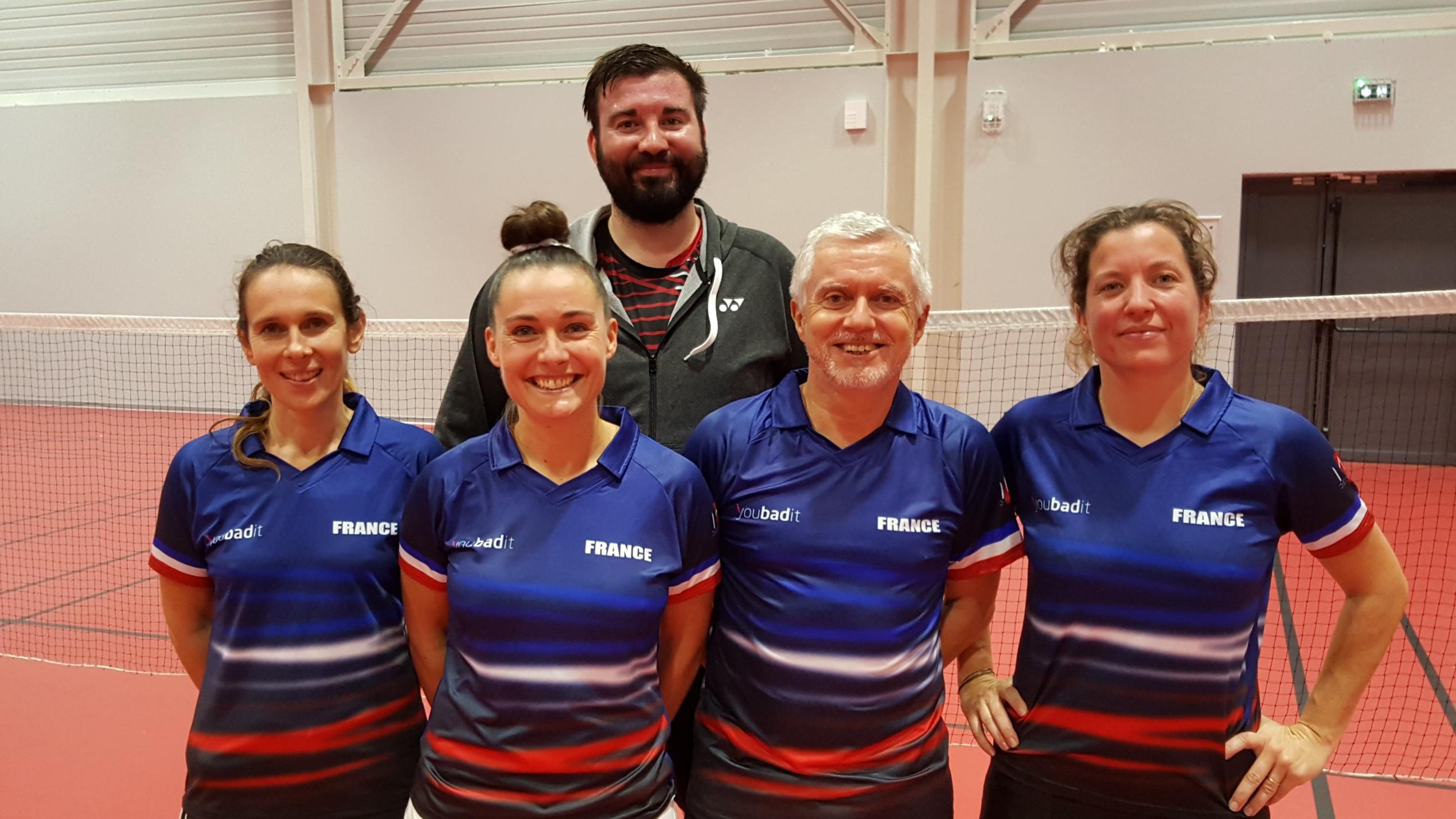 4 badistes de l'OBC se préparent pour les Championnats d'Europe Vétérans