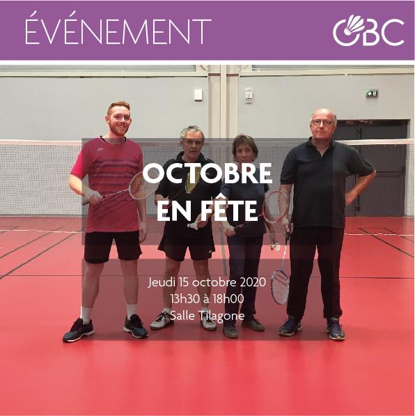Initiation pour les seniors – Octobre en fête