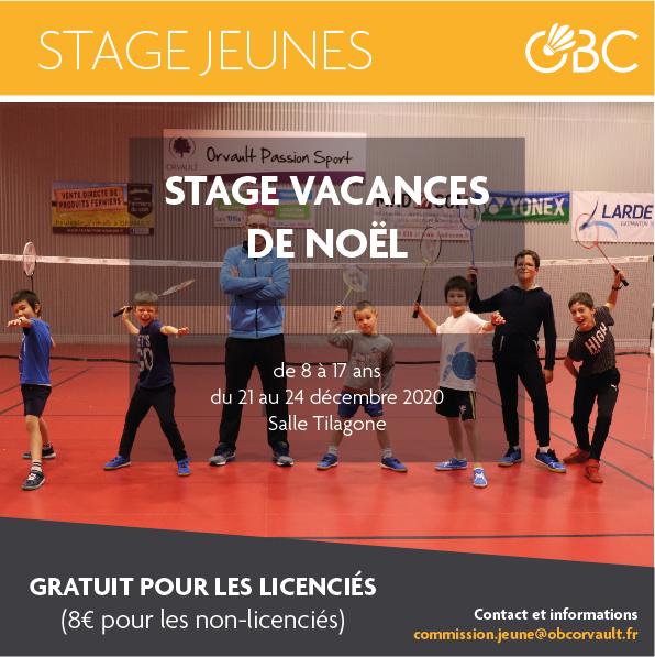 Read more about the article Stage jeunes vacances de Noël 2020