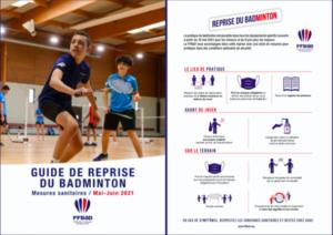 Nouveau protocole pour la reprise du badminton à partir du 19 mai !
