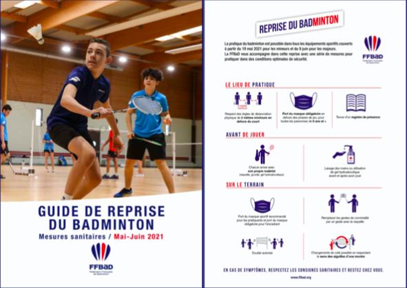 You are currently viewing Nouveau protocole pour la reprise du badminton à partir du 19 mai !