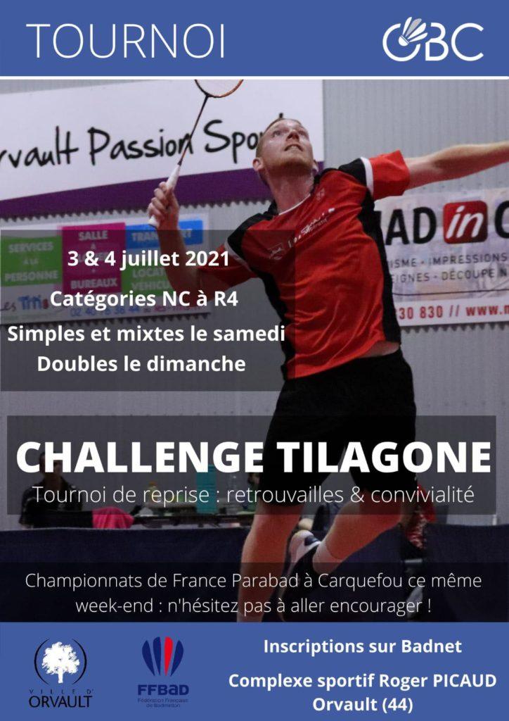 Affiche Challenge Tilagone 2021