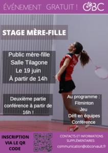 """Le """"Stage mère-fille"""""""