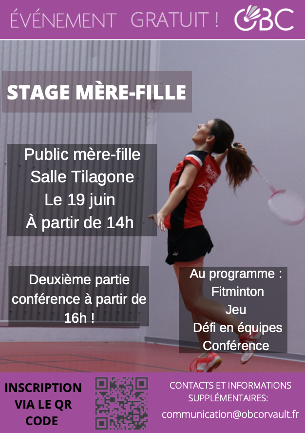 """Read more about the article Le """"Stage mère-fille"""""""