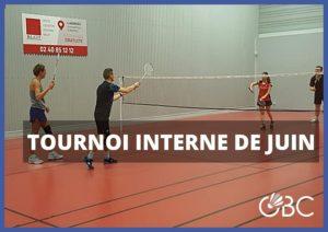 Read more about the article Tournoi interne de juin !